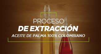 Proceso de extracción aceite de palma 100% colombiano
